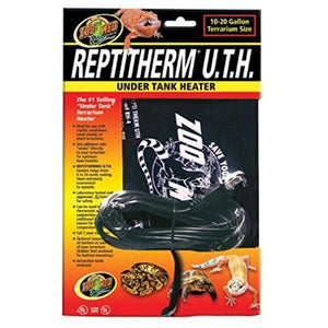 "Zoo Med Repti Therm Under Tank Reptile Heater 8 Watts - 8"" Long x 6"" Wide (10-20 Gallons) - All Pets Store"