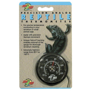 Zoo Med Precision Analog Reptile Thermometer Analog Reptile Thermometer - All Pets Store