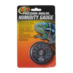 Zoo Med Precision Analog Reptile Humidity Gauge Analog Reptile Humidity Gauge - All Pets Store