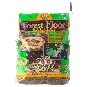 Zoo Med Forrest Floor Bedding - All Natural Cypress Mulch 4 Quarts - All Pets Store
