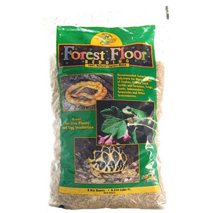 Zoo Med Forrest Floor Bedding - All Natural Cypress Mulch 8 Quarts - All Pets Store