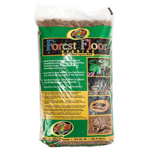 Zoo Med Forrest Floor Bedding - All Natural Cypress Mulch 24 Quarts - All Pets Store
