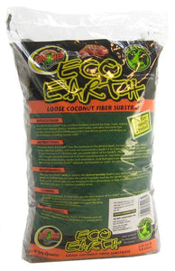 Zoo Med Eco Earth Loose Coconut Fiber Substrate 8 Quarts - All Pets Store