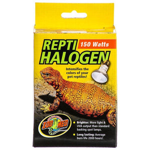 Zoo Med Repti Halogen Heat Lamp - UVA 150 Watts - All Pets Store