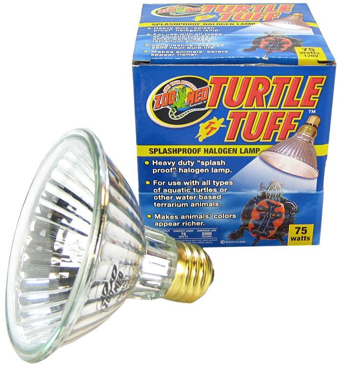 Zoo Med Turtle Tuff Splashproof Halogen Lamp 75 Watts - All Pets Store