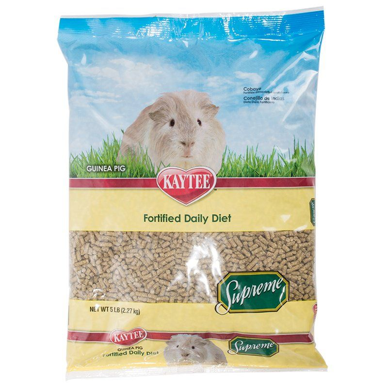 Kaytee Supreme Guinea Pig Fortified Daily Diet 5 lbs - All Pets Store