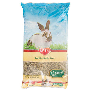 Kaytee Supreme Rabbit Fortified Daily Diet 10 lbs - All Pets Store