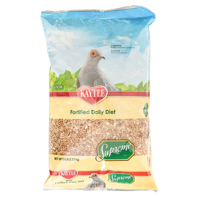 Kaytee Supreme Fortified Daily Diet Dove Food 5 lbs - All Pets Store