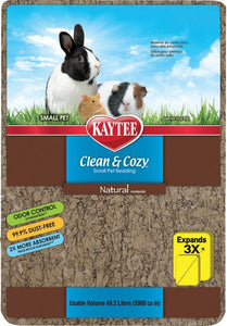 Kaytee Clean & Cozy Small Pet Bedding - Natural 49.2 Liters - All Pets Store