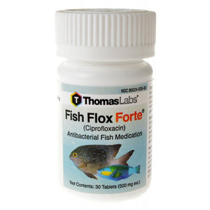 Thomas Labs - Fish Flox Forte 30 Tablets (500 mg) - All Pets Store
