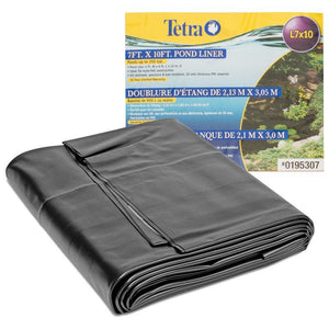 Tetra PVC Pond Liner 10' Long x 7' Wide (Up to 250 Gallon Ponds) - All Pets Store
