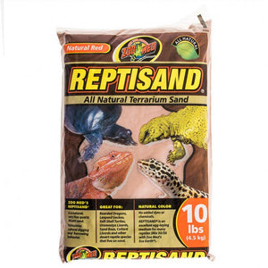 Zoo Med ReptiSand Substrate - Natural Red 3 x 10 lb Bags (30 lbs Total) - All Pets Store