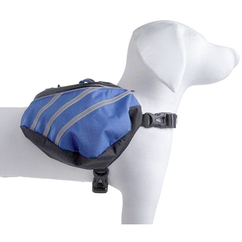 "Pet Life Dupont Everest Backback - Blue/Grey Small - For Dogs 15-40 lbs - (Fits 21""-31"" Girth)"