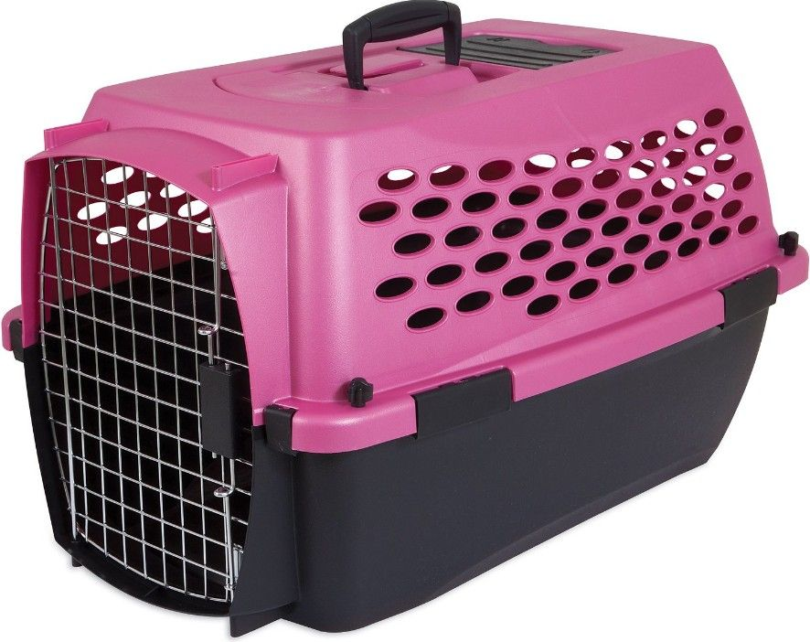 "Petmate Vari Kennel Dogs 10-20 lbs - (24.1""L x 16.7""W x 14.5""H) - All Pets Store"