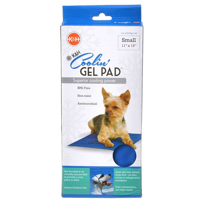 "K&H Coolin Pet Pad - Blue Small (11"" Long x 15"" Wide) - All Pets Store"