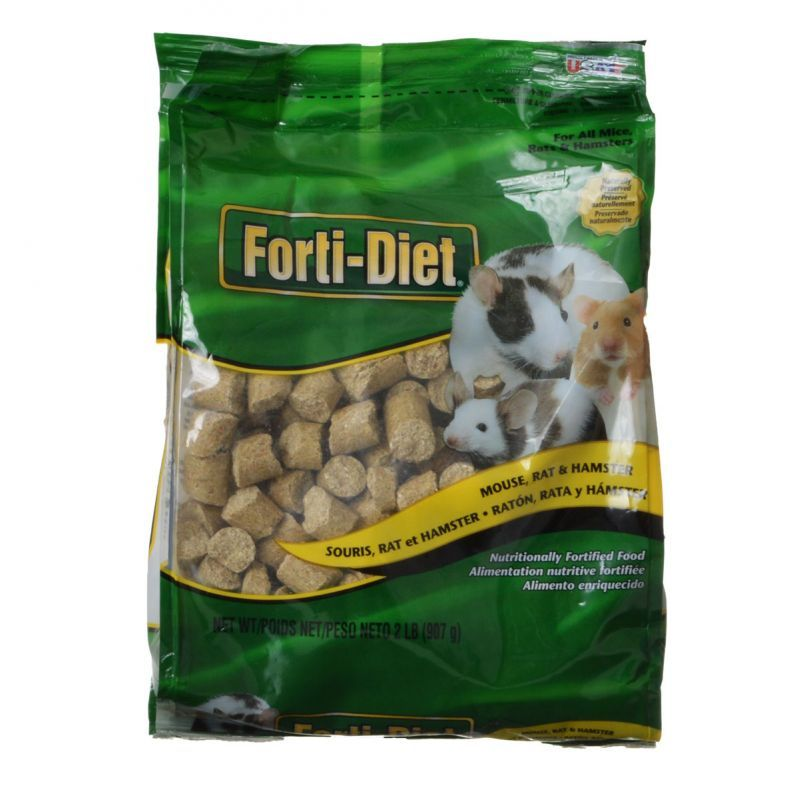 Kaytee Forti-Diet Mouse & Rat Food 2 lbs - All Pets Store