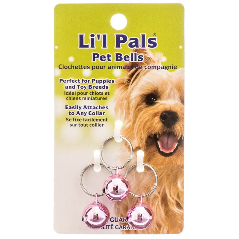 Lil Pals Pet Bells - Pink 3 Pack - All Pets Store