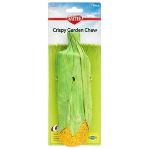 "Kaytee Crispy Garden Chew Toy Assorted Carrot or Corn - (7.5"" - 8"" Long) - All Pets Store"