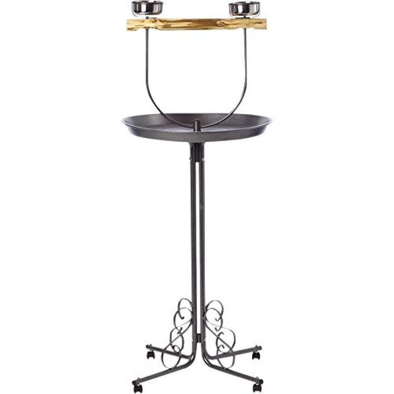 "Kaytee EZ Care ""T"" Bird Stand Medium - (25""L x 25""W x 53.8""H) - All Pets Store"