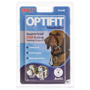 Halti Optifit Deluxe Headcollar for Dogs Small - (Westie, Jack Russell, Yorkie, Border Terrier) - All Pets Store