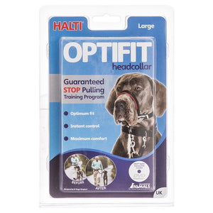 Halti Optifit Deluxe Headcollar for Dogs Large - (Rottweiler, Great Dane, Newfoundland, Large German Shepherd) - All Pets Store