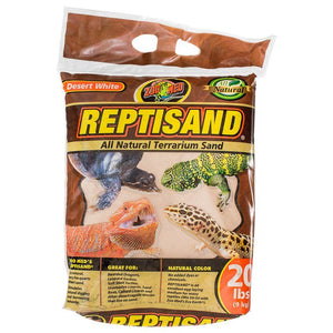 Zoo Med ReptiSand Substrate - Desert White 20 lbs - All Pets Store
