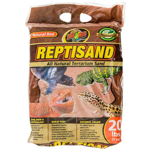 Zoo Med ReptiSand Substrate - Natural Red 20 lbs - All Pets Store