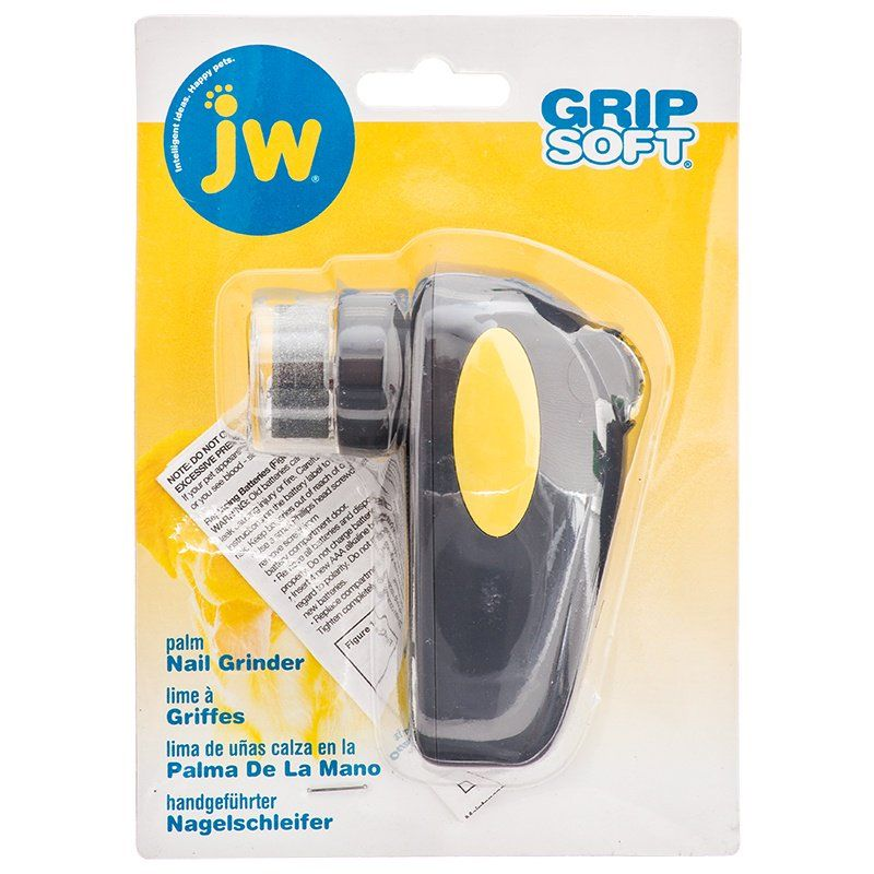 JW GripSoft Palm Nail Grinder for Dogs Palm Nail Grinder - (4
