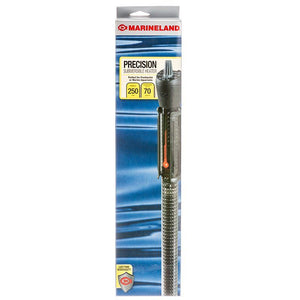 "Marineland Precision Submersible Aquarium Heater 250 Watt - 14.5"" Long - (Aquariums up to 70 Gallons) - All Pets Store"