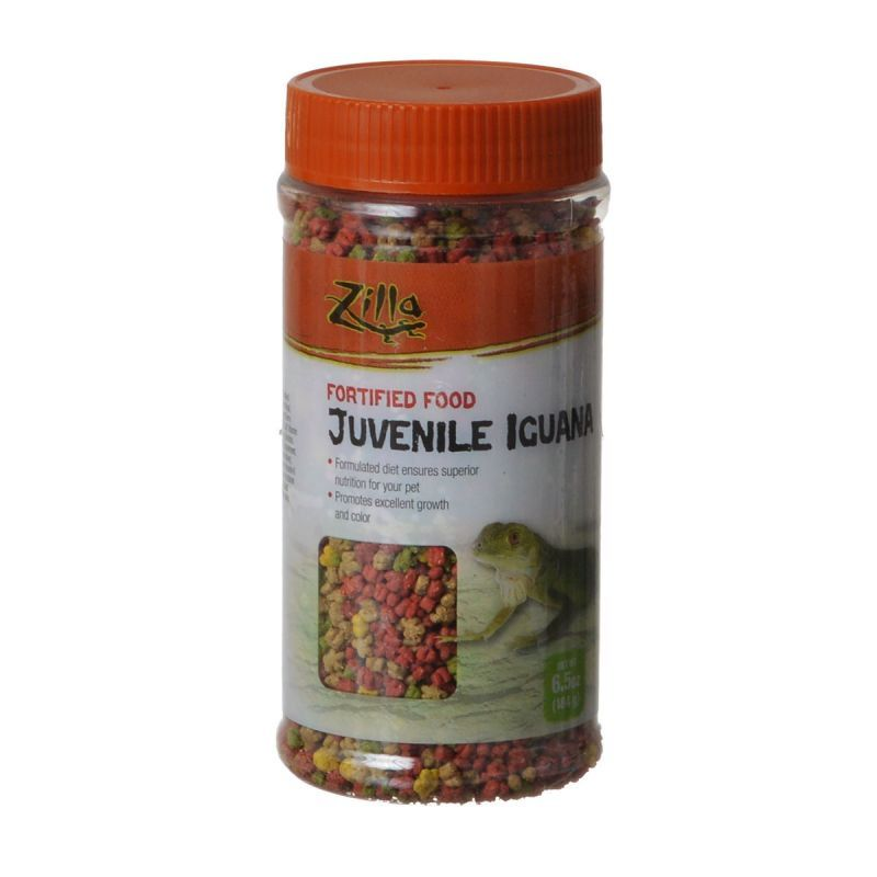 Zilla Fortified Food for Juvenile Iguanas 6.5 oz - All Pets Store