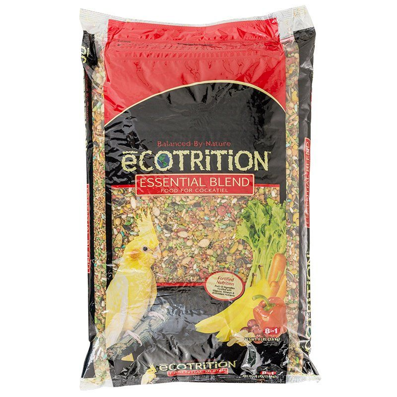 Ecotrition Essential Blend Diet for Cockatiels 8 lbs