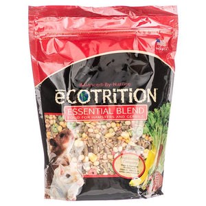 Ecotrition Essential Blend Diet for Hamsters & Gerbils 2 lbs - All Pets Store