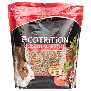 Ecotrition Essential Blend Diet for Rabbits 5 lbs - All Pets Store