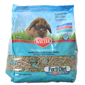 Kaytee Forti-Diet Pro Health Adult Rabbit Food 5 lbs - All Pets Store