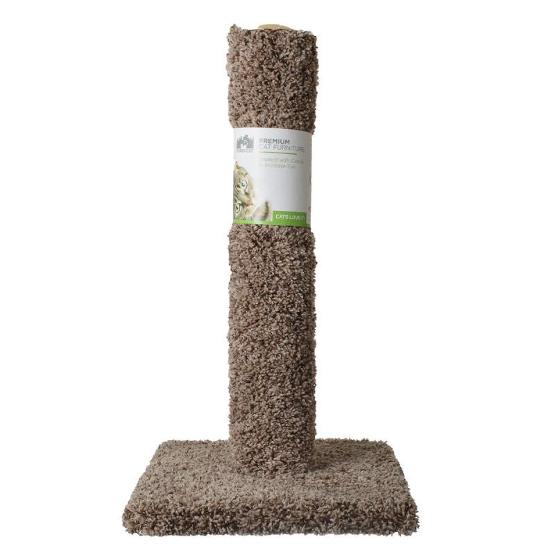 "Urban Cat Cat Carpet Scratching Post 26"" High (Assorted Colors) - All Pets Store"