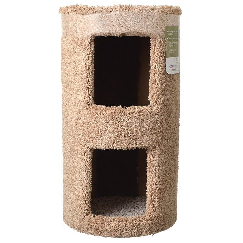 "Classy Kitty 2 Story Cat Condo 13"" Diameter x 24"" High - All Pets Store"
