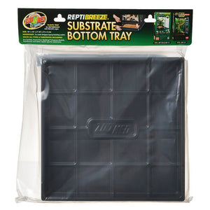 "Zoo Med ReptiBreeze Substrate Bottom Tray Tray for NT10, NT11 & NT15 - (16""L x 16""W x 2""H) - All Pets Store"