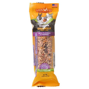 "Sunseed Grainola Rabbit Treat Bar with Flaxseed 'n Berries 4"" Bar - All Pets Store"