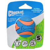 "Chuckit Ultra Squeaker Ball Dog Toy Small (2"" Diameter) - All Pets Store"
