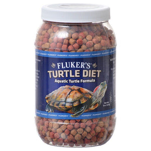 Flukers Turtle Diet for Aquatic Turtles 8 oz - All Pets Store