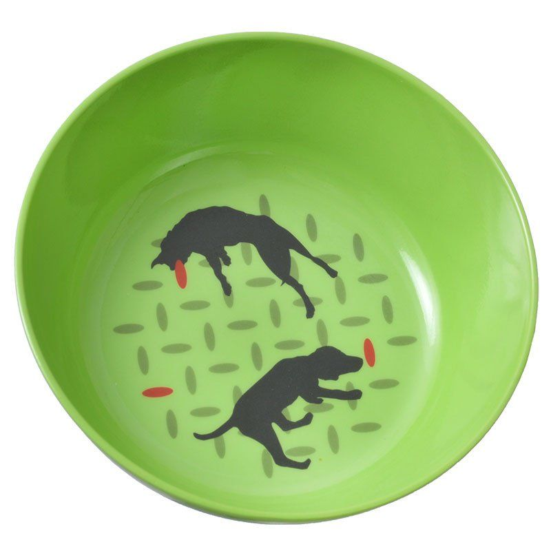 "Van Ness Ecoware Non-Skid Degradable Dog Dish 32 oz Capacity (7""D x 3.75""H)"