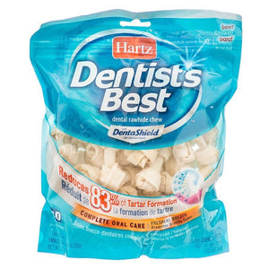 "Hartz Dentist's Best Bones with DentaShield 2"" Long (40 Pack) - All Pets Store"