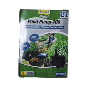TetraPond Pond Pump 700 GPH (For Ponds 500-1,000 Gallons) - All Pets Store