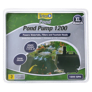 TetraPond Pond Pump 1200 GPH - (For Ponds 1,000-1,500 Gallons) - All Pets Store