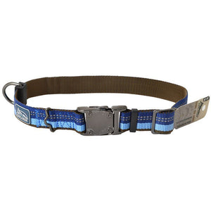 "K9 Explorer Sapphire Reflective Adjustable Dog Collar 18""-26"" Long x 1"" Wide - All Pets Store"