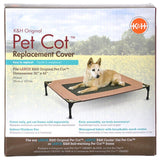 "K&H Pet Cot Cover - Chocolate Brown Large - (30""L x 42""W) - All Pets Store"