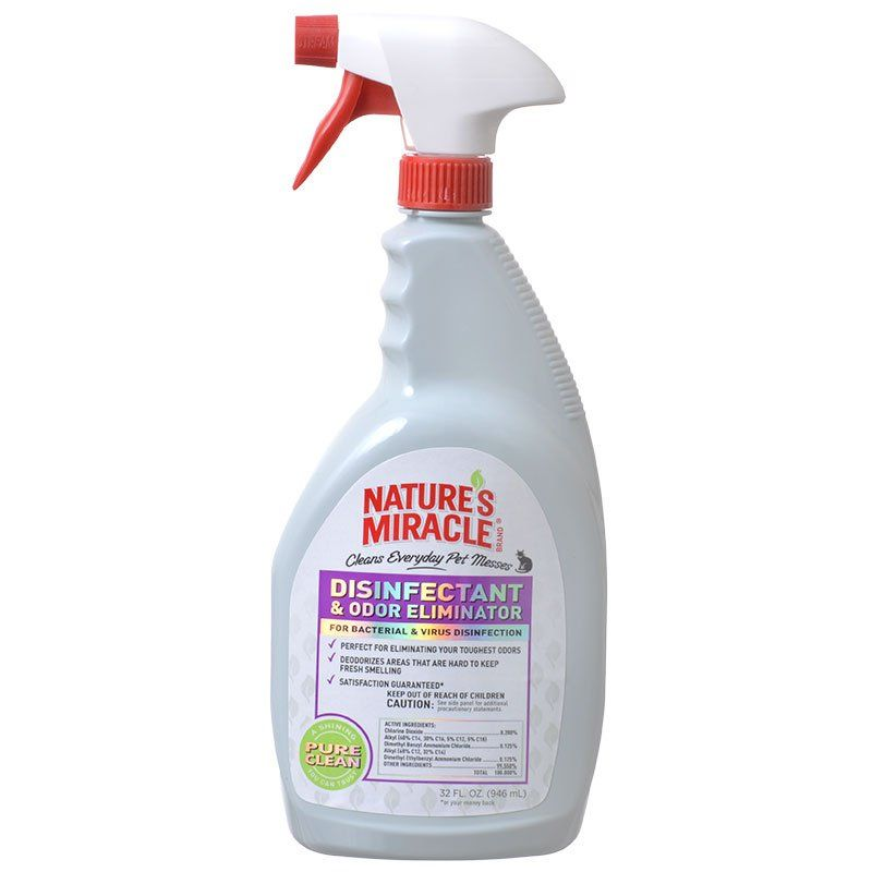 Nature's Miracle Disinfectant & Odor Eliminator Spray 32 oz
