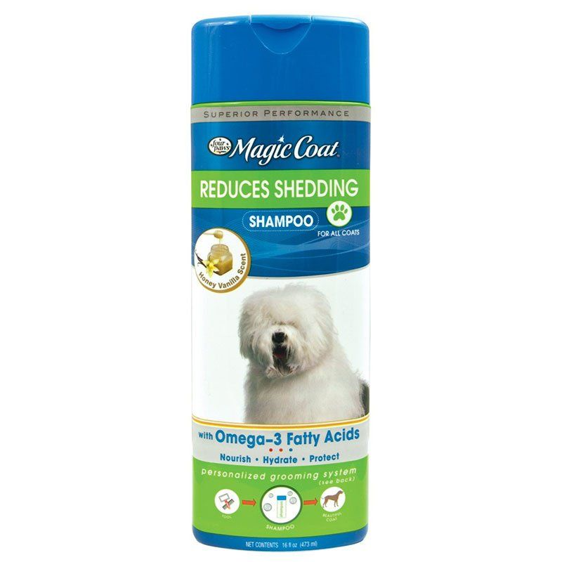 Magic Coat Reduces Shedding Dog Shampoo 16 oz - All Pets Store