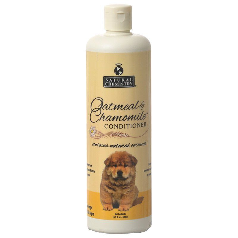 Natural Chemistry Natural Oatmeal & Chamomile Conditioner 16 oz - All Pets Store