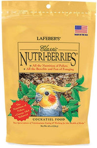 Lafeber Classic Nutri-Berries Cockatiel Food 10 oz - All Pets Store